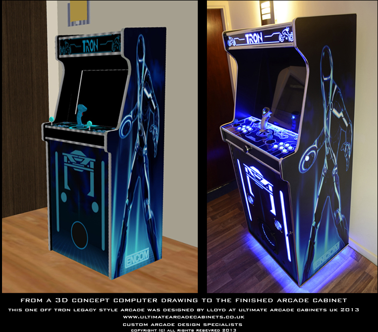 tron legacy arcade machine uk