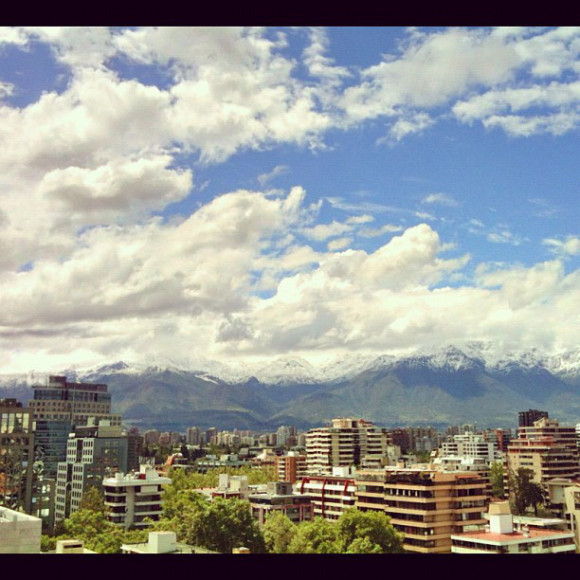 clouds, Santiago, Chile, iPhoneography Selection January 7 2013,pablolarah,Pablo Lara H Blog
