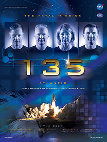 final shuttle sts-135 set  to launch 11:26a et, friday