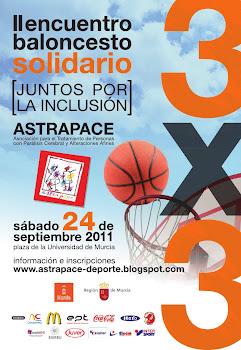 II encuentro solidario 3X3 ASTRAPACE