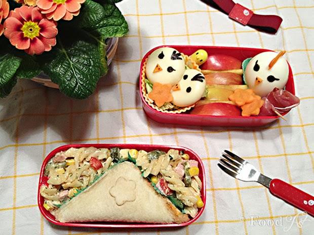 Brot Bento No. 05 - Frühlingsküken Charaben - Food Art