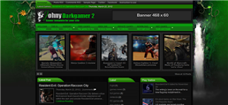 Johny Darkgamer 2  Blogger Template
