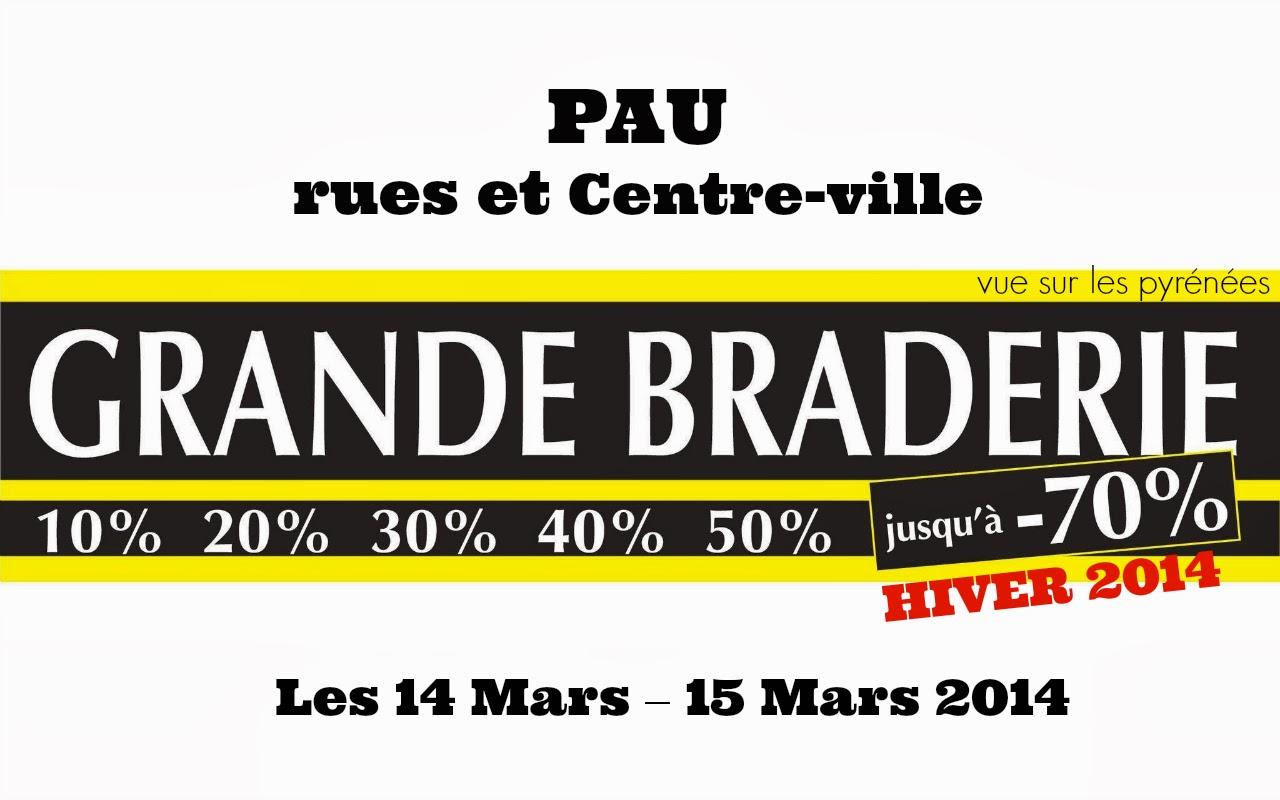 GRANDE BRADERIE HIVER 2014 DE PAU béarn