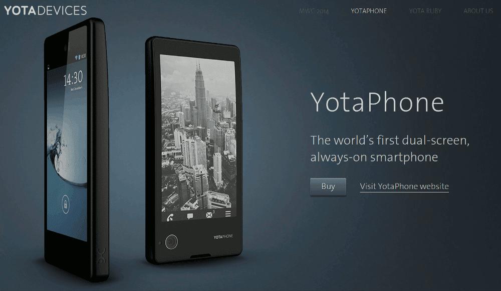 YotaPhone - ruski android telefon sa dva ekrana