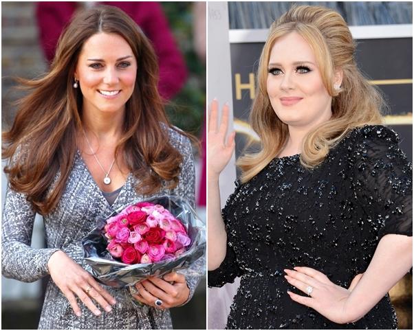 Unhas Nude Famosas Adele Kate Middleton