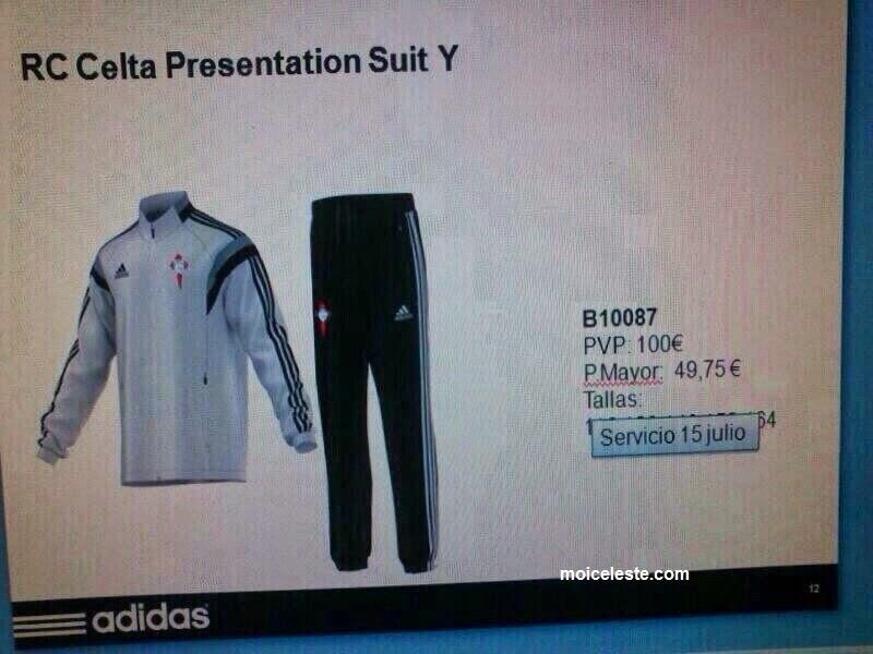 Más imágenes de la posible colección Adidas para el Celta 14 15 ~ Celta de  Vigo Moi Celeste 7c67ace8ff400