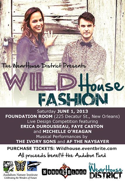 WildHouse Fashion: a Benefit for the Audubon Fund (New Orleans, La)