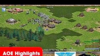 AOEHighlights - Độ phiêu của Hồng Anh được gọi là Max Ping khi em chém tuyển Persian