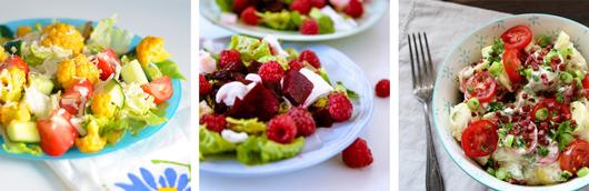 Salate zum Grillfest