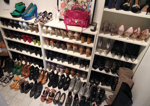 Adesivo Decorativo De Parede Cozinha ~ Ideas Armarios para guardas tus zapatos de moda Moda y