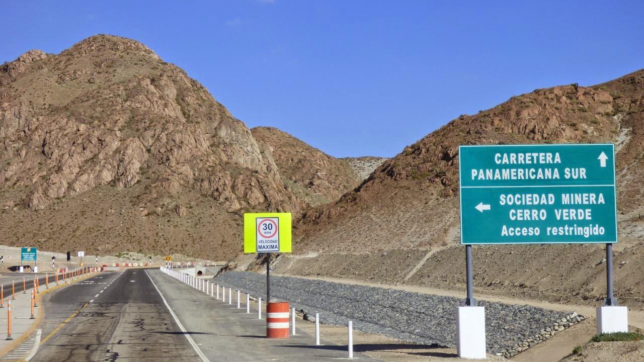 Die Panamericana Sur zwischen Arequipa und Camana