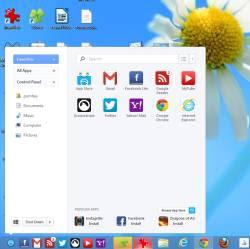 Pulsante Start Windows 8