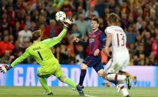 Lionel Messi Raih Penghargaan Gol Terbaik UEFA 2015