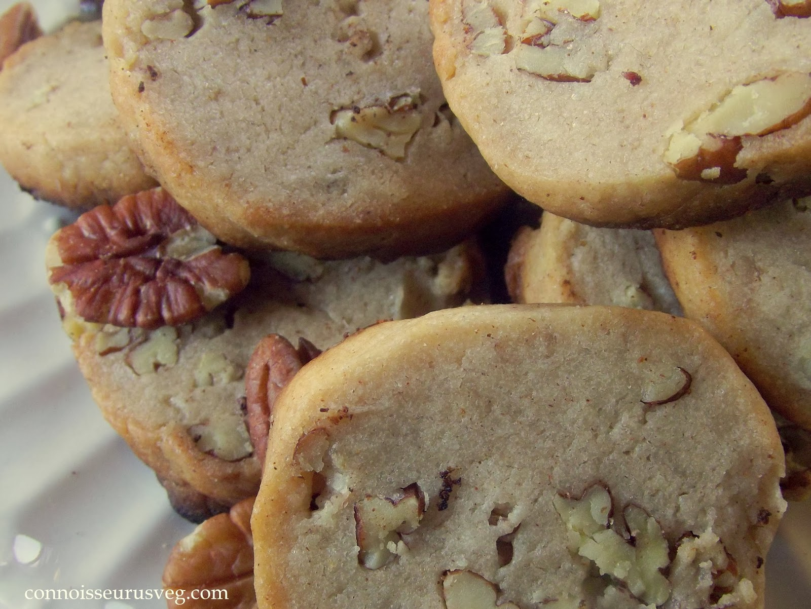 Cinnamon-Pecan Shortbread Recipe — Dishmaps