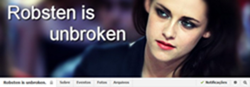 Grupo 'Robsten Is Unbroken' no Facebook! Participe!