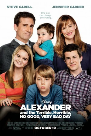 Alexander and the Terrible, Horrible, No Good, Very Bad Day 2015 poster