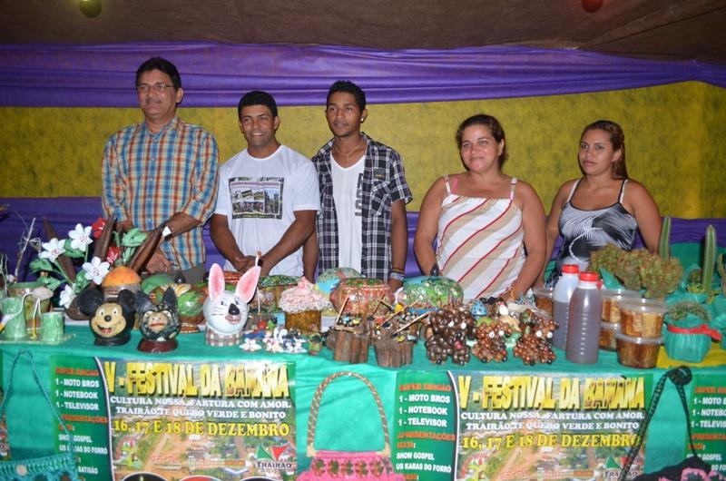 Artesanato Jornal E Revista ~ PORTAL TRAIRENSE Artesanato Trairense foi valorizado no Festival da banana