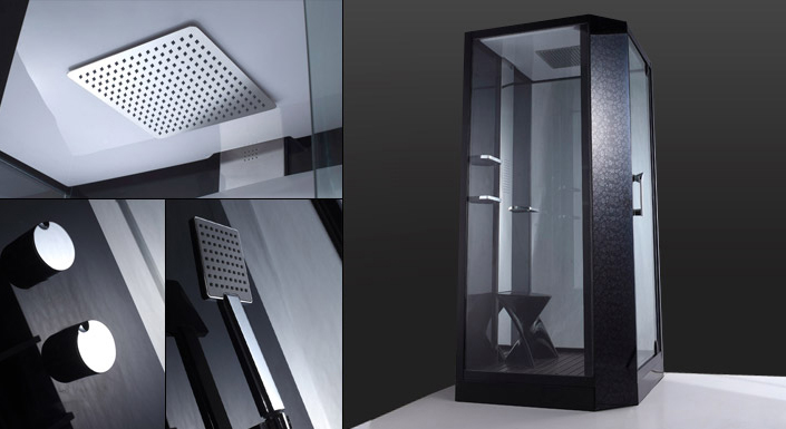 cabine de douche meubles de salle de bain. Black Bedroom Furniture Sets. Home Design Ideas