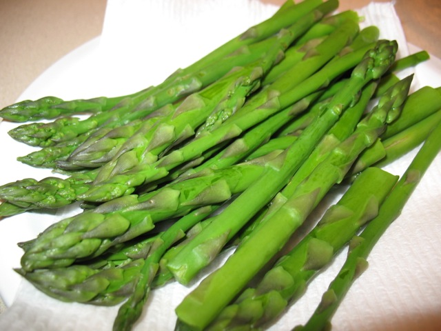 Cook In / Dine Out: Asparagus with Mustard Dressing, Bacon ...
