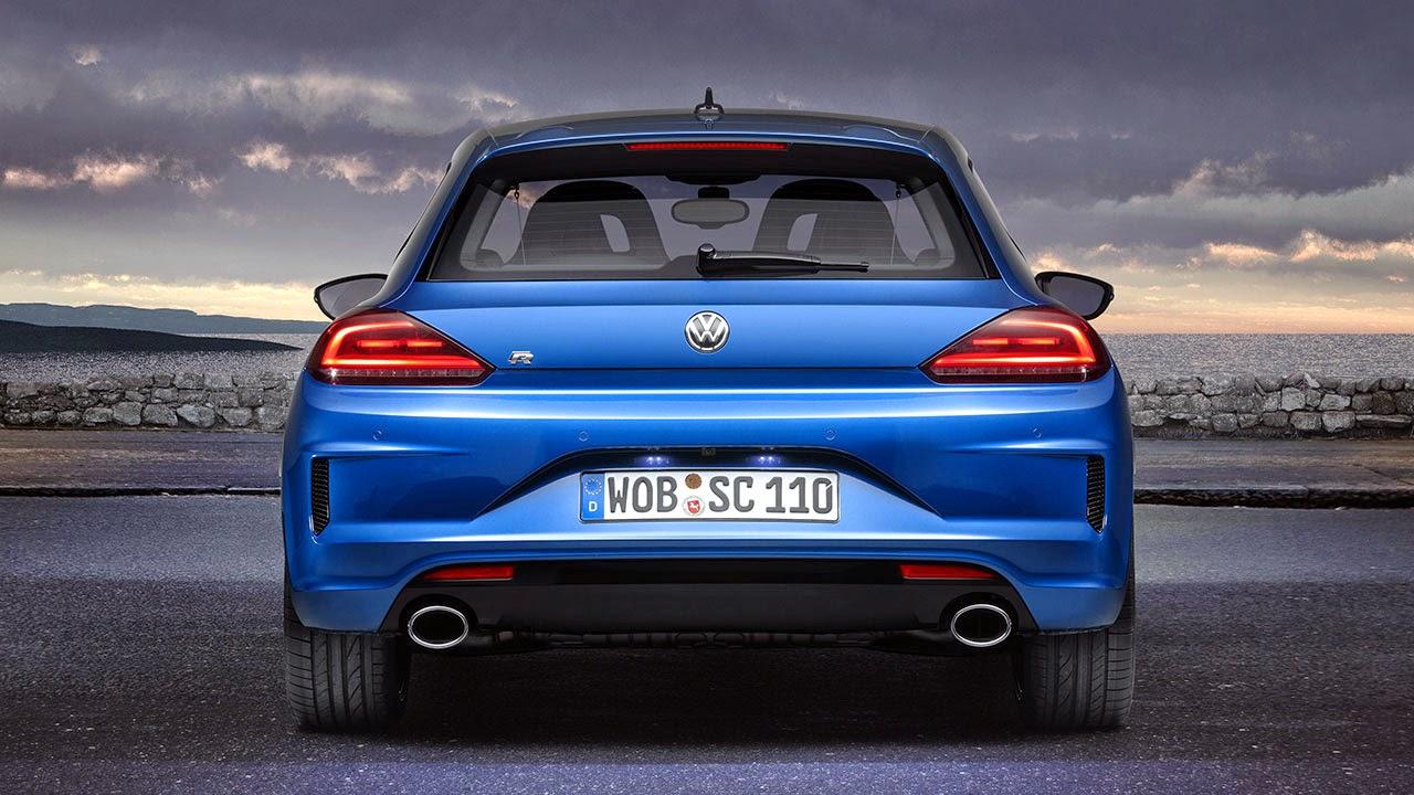 Volkswagen Scirocco R rear
