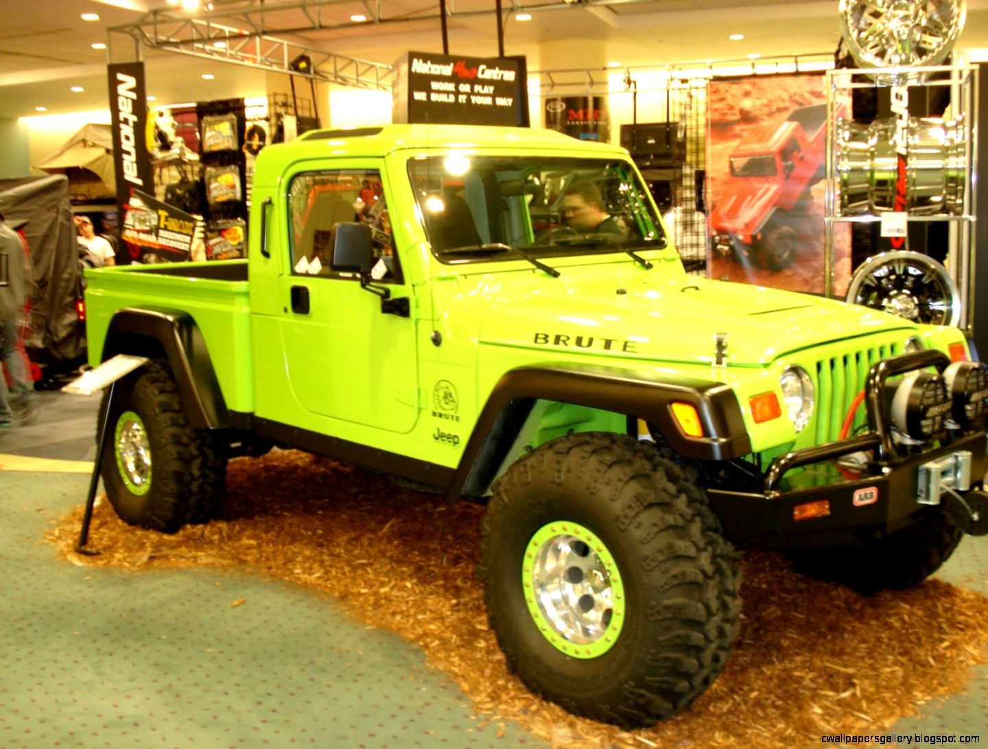 Jeep Brute at Auto Show  Jeep Enthusiast