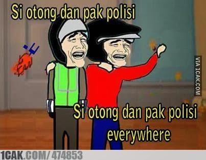 meme comic lucu polisi