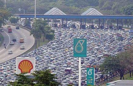 TIngkatkan Trafik Blog - Kalau trafik blog sebegini kan best sampai jem. Hehehe