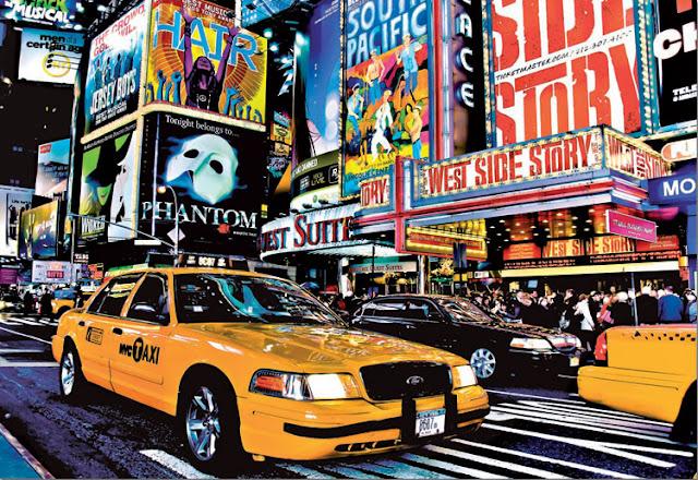 Times_Square_Guillaume_Gaudet_1500_parça_educa_puzzle
