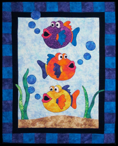 Inspired by fabric under the sea for Fish fabric for quilting