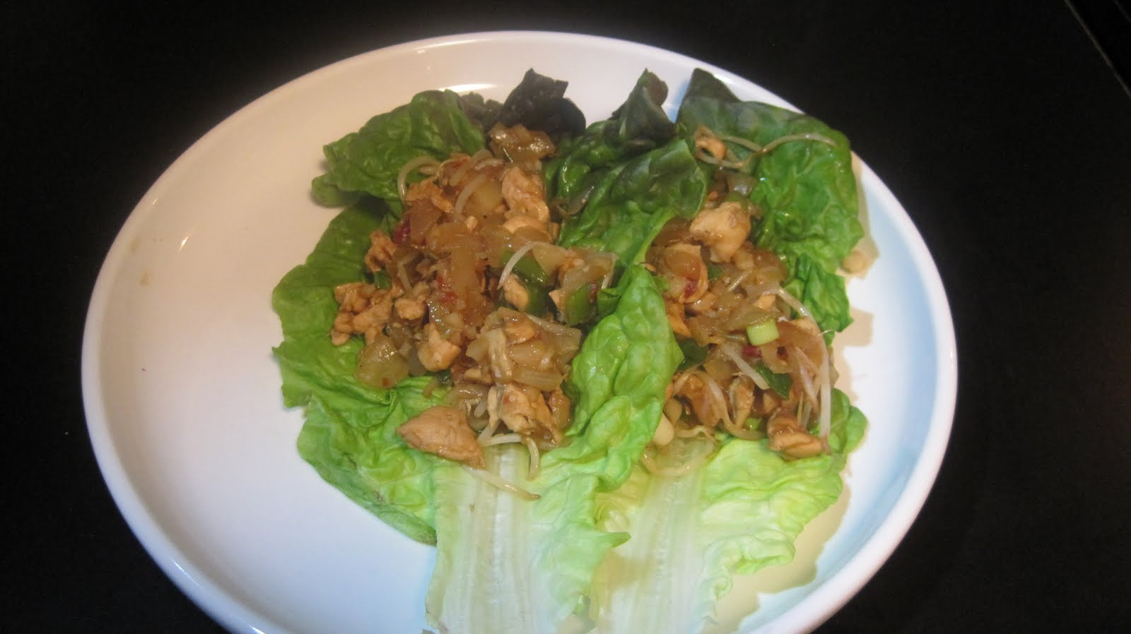 how to cook chicken lettuce wraps