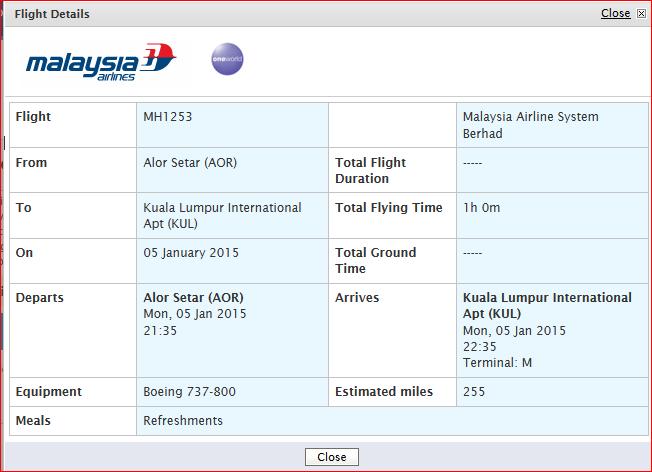 Promosi Tiket Penerbangan MAS Murah 2015