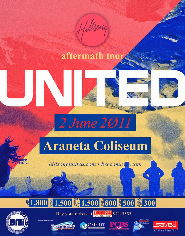 This June 2 2011 Hillsong United Will Come Back In The Philippines Live For Third Time Band Has Been Here Twice Before To Lead Filipinos Into A