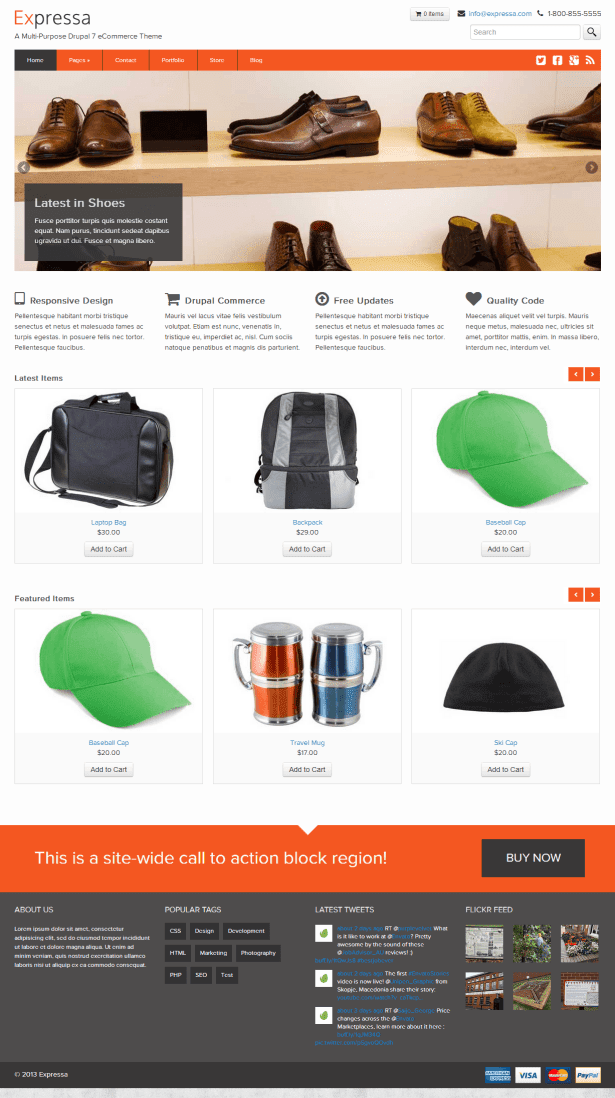 drupal themes commerce