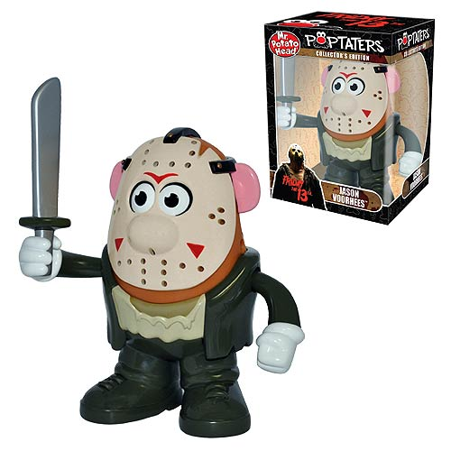jason voorhees poptaters mr potato head take a stab at decorating your desk with the sportiest scariest starchiest tater in the produce section