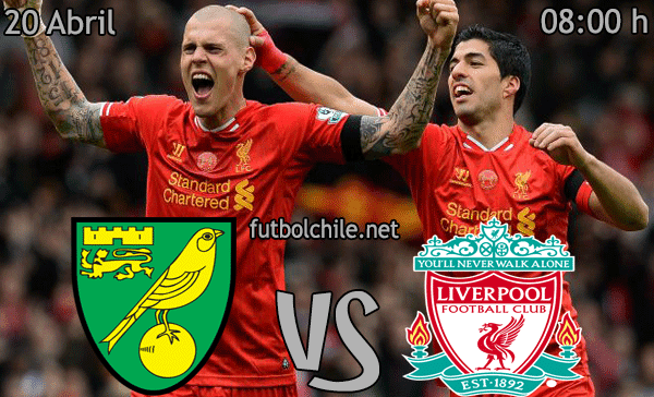 Norwich vs Liverpool - Premier League - 08:00 h - 20/04/2014