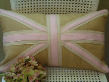 Felt Union Jack Cushions