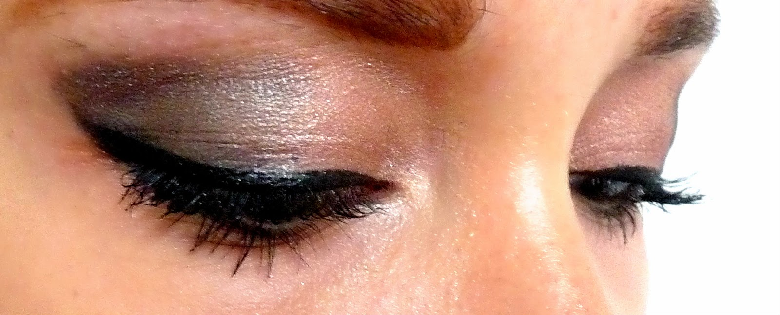 Evening eye make up look aw14