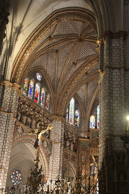 Gothic cathedral of Toledo