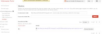 Cara palink mudah demosite sitelink