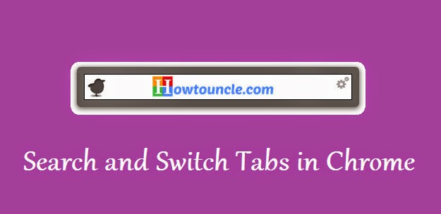 how to find and switch tabs in chrome
