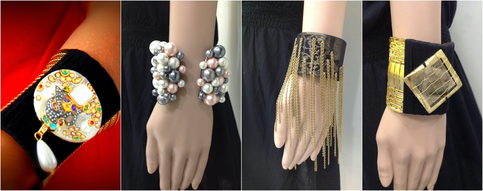 Rejuvenate Jewels cuff bracelets