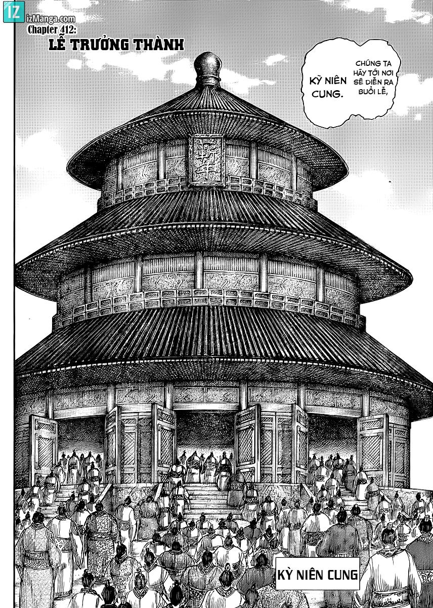 Kingdom - Vương Giả Thiên Hạ Chapter 412 page 5 - IZTruyenTranh.com