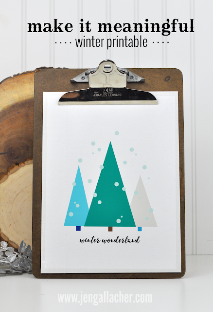 FREE Winter #printable by Jen Gallacher from www.jengallacher.com.