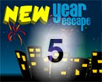 Walkthrough New Year Escape 5 Solution
