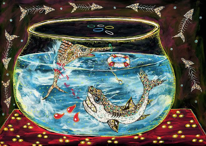 aquarium 21x15 cm