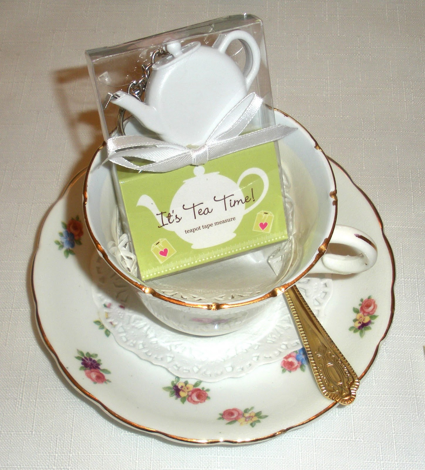 The nest at finch rest afternoon tea favors for Teacup party favors
