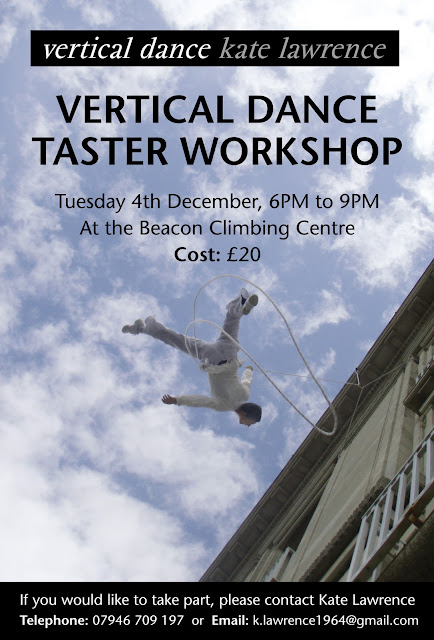 Vertical dance taster workshop in North Wales