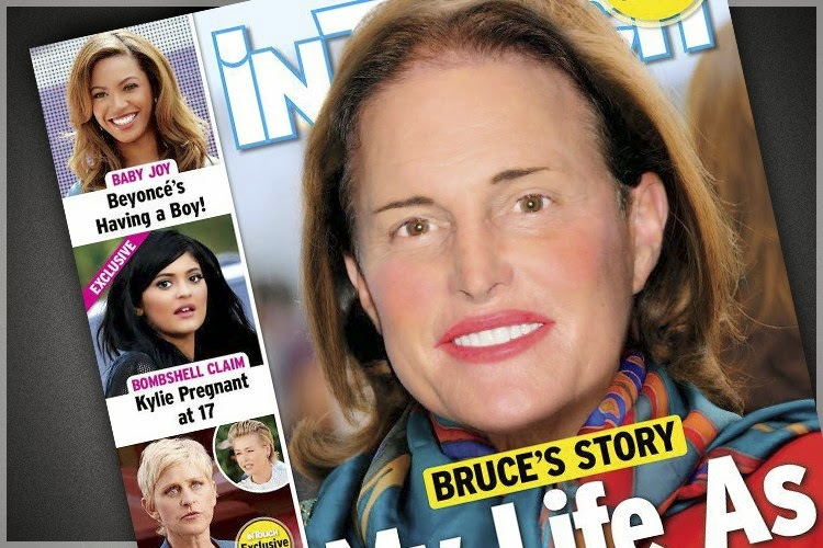Bruce Jenner as women