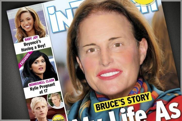 Bruce Jenner as women