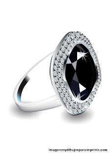 anillo de pedida con piedras preciosas